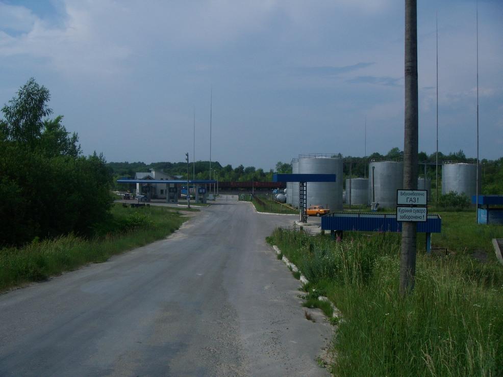 Терминал для приёма сжиженных углеводородных газов