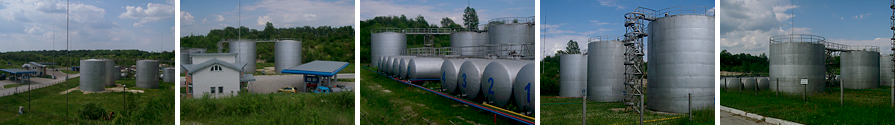 Зберігання нафтопродуктів