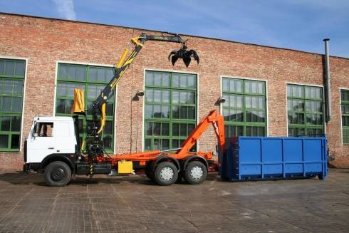 вывоз строительного мусора во Львове