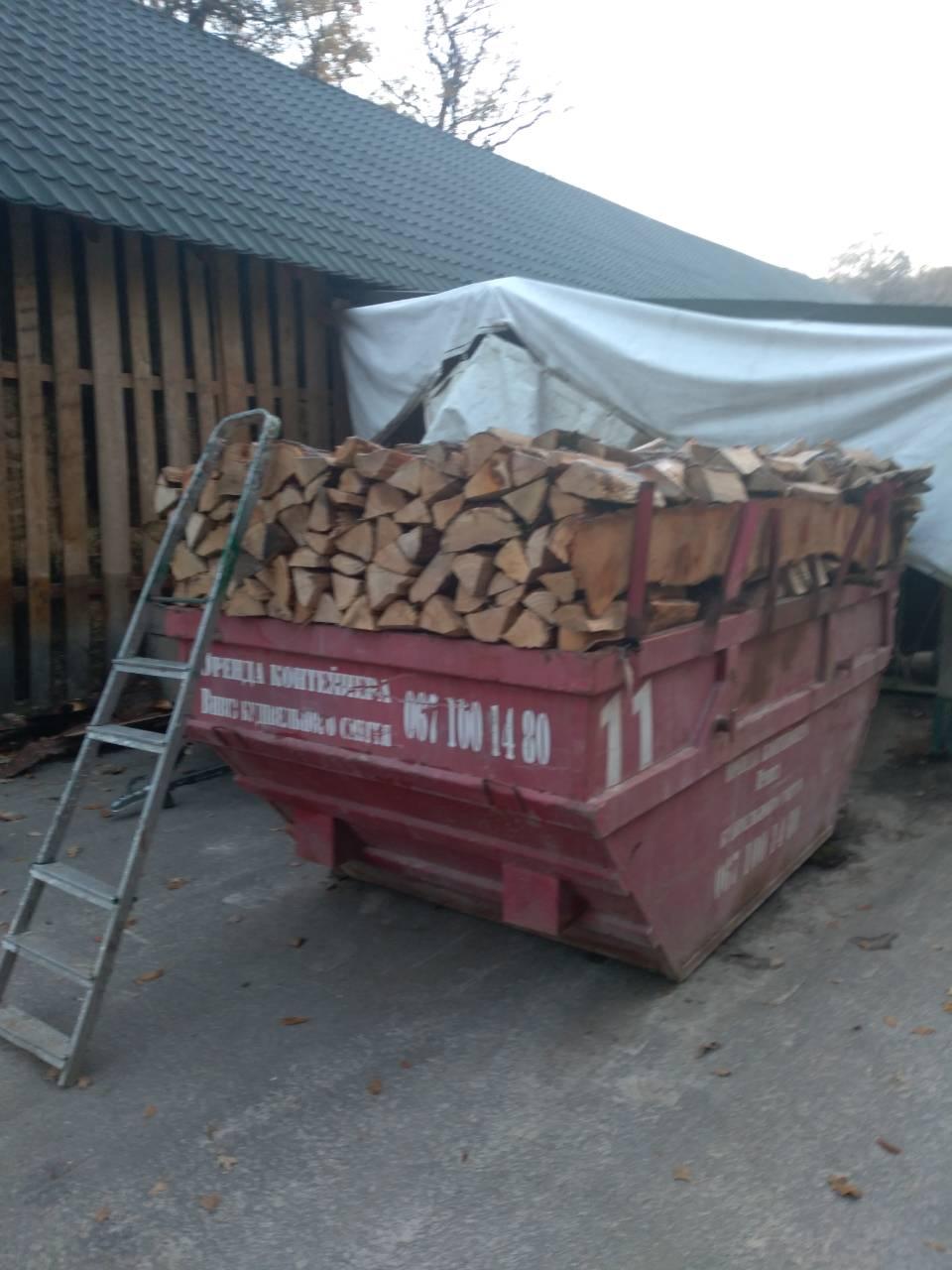 дрова метрівки
